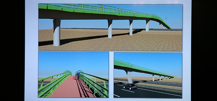 La UCA adjudica la obra para la construcción de la pasarela que unirá la ESI con la estación de Las Aletas