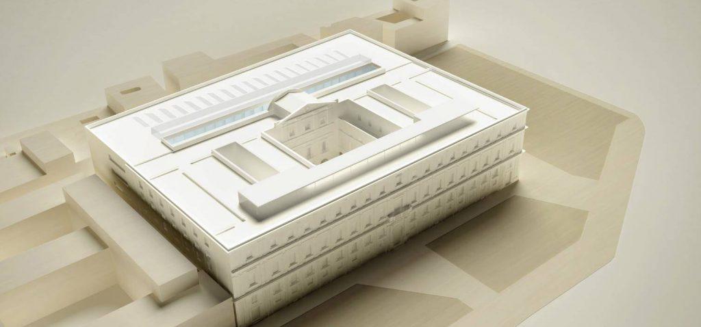 La UCA presenta el proyecto básico y ejecución de la nueva Facultad de Ciencias de la Educación en el edificio Valcárcel