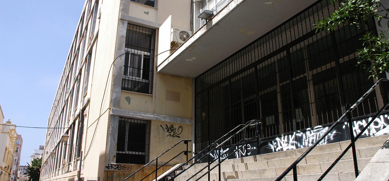 La UCA acomete obras en el edificio de la antigua ESI para asegurar y adecentar todo el perímetro de su fachada